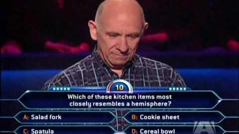 Who wants to be a millionaire BIG FAIL LOSER!!!!!!!!!!!