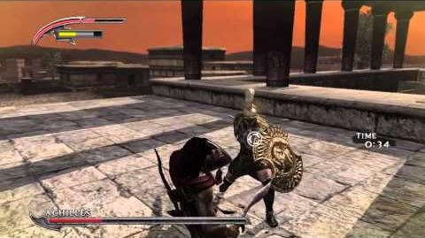 Warriors Legends of Troy - Paris gameplay