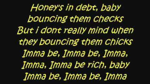 Black Eyed Peas -Imma be. Lyrics.
