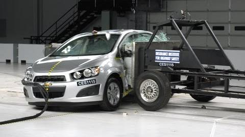 2012 Chevrolet Sonic side impact test