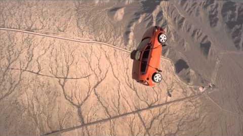 Chevy Sonic Stunts Skydive