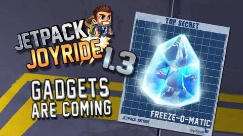 "Jetpack Joyride 1.3 - Gadgets Update ""Freeze-O-Matic"""