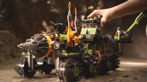 LEGO Power Miners Titanium Command Rig TVC.