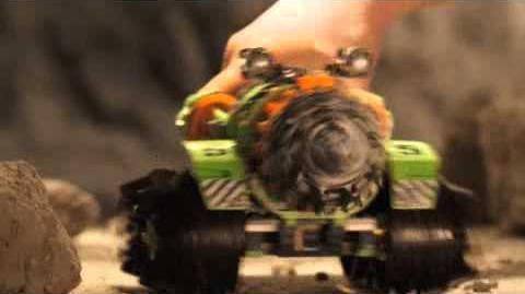 LEGO Power Miners - Thunder Driller Commercial