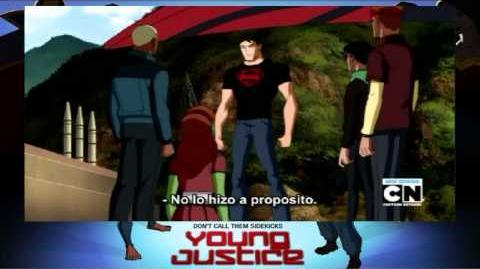 "Young Justice ""Welcome to Happy Harbor"" Cap 3 parte 2 2 Sub esp"