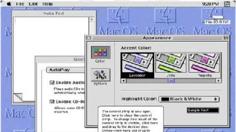 GUI Evolution 1981 - 2009