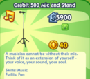 GrabIt 500 Mic and Stand