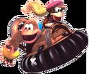 Kiddy Artwork 2 - Donkey Kong Country 3.png
