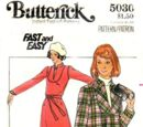 Butterick 5030 A
