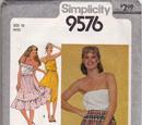 Simplicity 9576 A