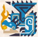 MH3G-Azure Rathalos Icon.png
