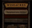 Wiseacres Équipements pour Sorciers