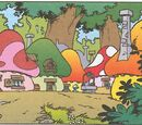 Locations in the Smurfs comic books