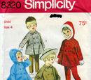 Simplicity 8320 A