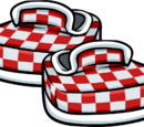 Red Checkered Shoes