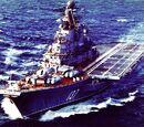 Soviet aircraft carrier Novorossiysk