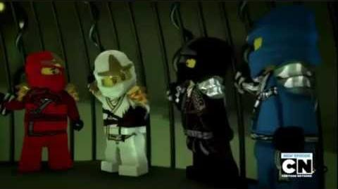 Lego Ninjago Rise of the Snakes Episode 11 All of Nothing