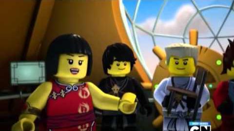 Lego Ninjago Rise of the Snakes Episode 3 Snakebit