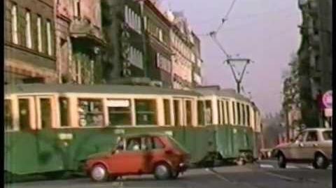 Tramwaje Poznan 1988