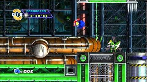 Sonic 4 Episode 2 - Episode Metal Act 1 Mad Gear