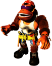 Funky Artwork - Donkey Kong Country 3.png