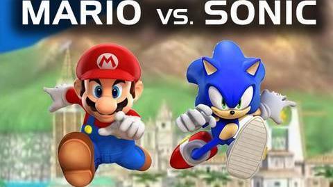 Mario vs. Sonic (Super Smash Bros Brawl Machinima)