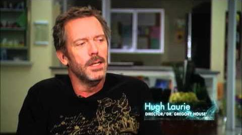 "HOUSE - Hugh Laurie Directs ""The C-Word"""