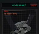 HD-223 Raiko