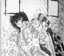 "Saint Seiya - Capítulo 100 ""¡Lucha a muerte de tres contra uno!"""