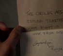 Royce's note for Jake