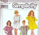 Simplicity 9209 B
