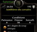 Jambières du corsaire