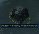 XM814 Heavy Machine Gun