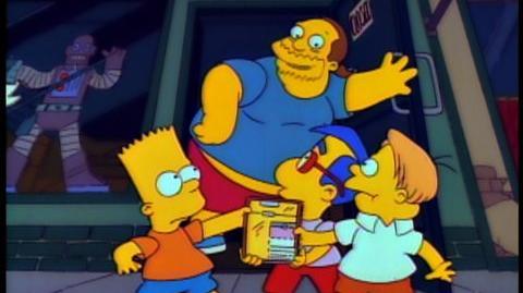 The Simpsons Season 12 (2001) - Comic Book Guy trailer for season 12