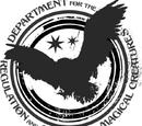 Départements du ministère de la Magie