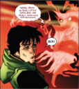 Loki Laufeyson (Kid Loki) (Earth-616) and Mephisto (Earth-616) from New Mutants Vol 3 43 0001.png
