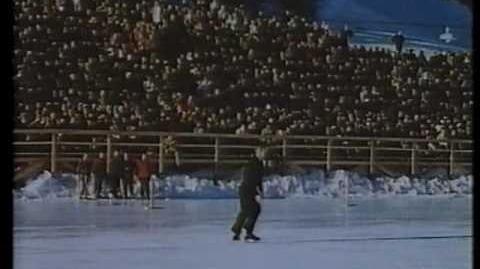 1948 Winter Olympics Figure Skating - Dick Button and Barbara Ann Scott