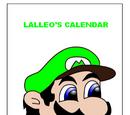 Lalleo's Calendar