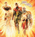 Phoenix Five (Earth-616) and Hope Summers (Earth-616) from Avengers vs. X-Men Vol 1 5 0001.png