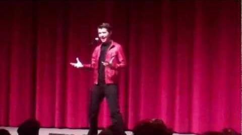 """""""Beyond The Sea"""" Damian McGinty - The Glee Project Panel"""