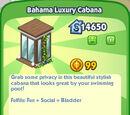 Bahama Luxury Cabana