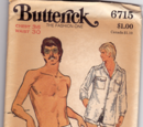 Butterick 6715 B
