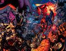 X-Men (Earth-1610), Peter Parker (Earth-1610), Fantastic Four (Earth-1610), European Defense Initiative (Earth-1610), and Liberators (Earth-1610) from Ultimates 2 Vol 1 12.jpg
