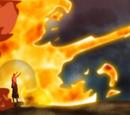 Elemento Fuego: Jutsu Misil de Fuego