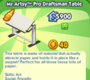 Mr Artsy™ Pro Draftsman Table