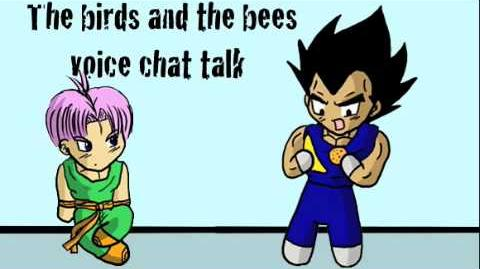 Vegeta explains the birds and bees