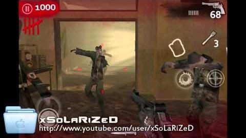Call of Duty World at War Zombies iPhone iPod Touch Gameplay - Verrückt