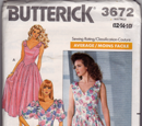 Butterick 3672 A
