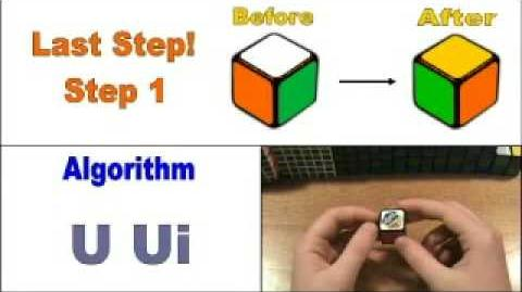 How To Solve The 1x1 Rubik's Cube
