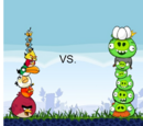 Angry Birds vs Angry Pigs
